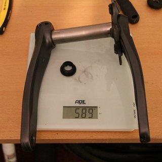 Gewicht Shimano Kurbel SLX FC-M660 175mm, 68/73mm, HTII