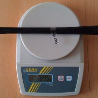 Gewicht Sapim Speiche D-Light 280mm, 36 Stück