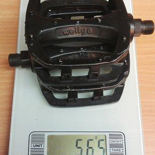 Gewicht Wellgo Pedale (Platform) LU987