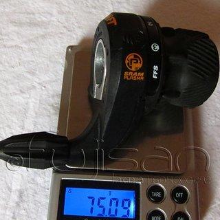 Gewicht SRAM Drehschaltgriff Grip Shift Plasma 3-fach