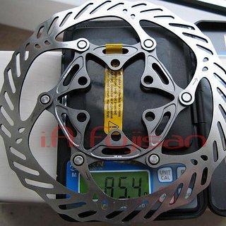 Gewicht Avid Bremsscheibe CleanSweep X 140mm
