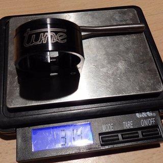 Gewicht Tune Sattelklemme Würger (QR) 30,0mm