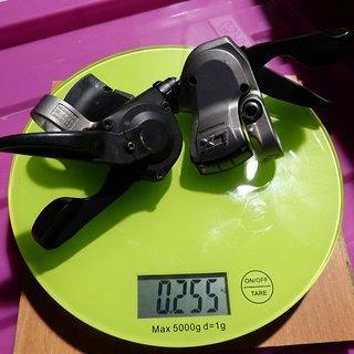 Gewicht Shimano Schalthebel SL-M580 3x9