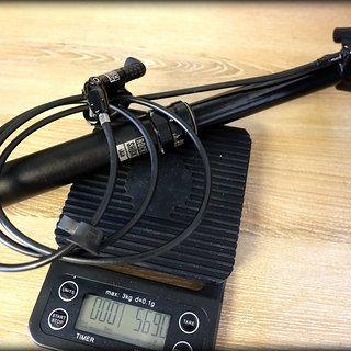 Gewicht Rock Shox Sattelstütze höhenverstellbar Reverb 30,9 x 420mm