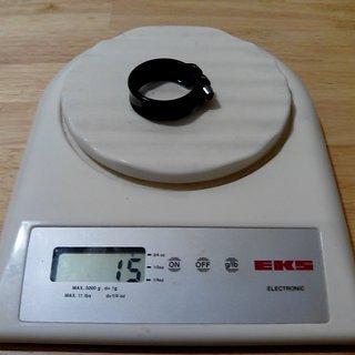 Gewicht UN Sattelklemme Elitis 34,9mm