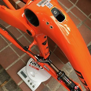 Gewicht Specialized Full-Suspension Epic World Cup Torch M