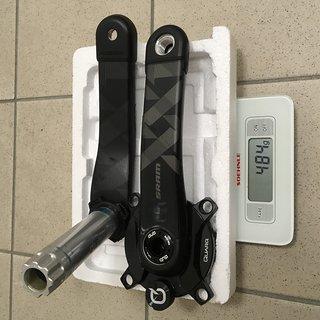 Gewicht SRAM Kurbel Quarq DZero XX1 Eagle DUB, 175mm, standard