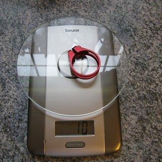 Gewicht Procraft Sattelklemme PRC SPK1 34,9mm
