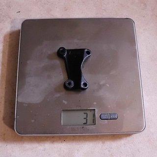 Gewicht Magura Scheibenbremsadapter Adapter Nr. 15 IS >>> IS +50