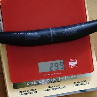 Gewicht Ritchey Lenker WCS TRAIL RIZER 35 780x35mm