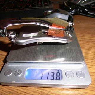 Gewicht Shimano Umwerfer FD-M9070 2 fach