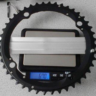 Gewicht Shimano Kettenblatt XTR FC-M960 146mm, 44Z
