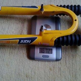 Gewicht Rock Shox Federgabel Judy XC HydraCoil 80mm