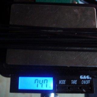 Gewicht Sapim Speiche CX-Ray 262mm, 17 Stück