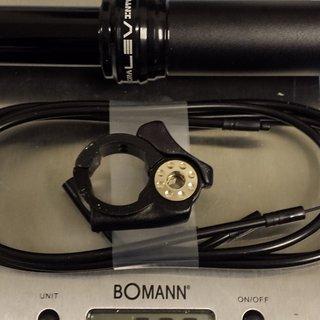 Gewicht Kind Shock Sattelstütze höhenverstellbar Kind Shock LEV Integra Sattelstütze 150 MY2016 30,9mmx435mm