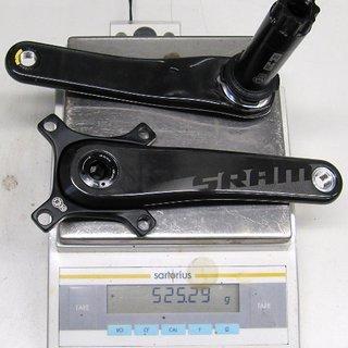 Gewicht SRAM Kurbel S2200 175mm, PF30