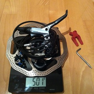 Gewicht Avid Scheibenbremse Elixir 9 HR, 1600mm