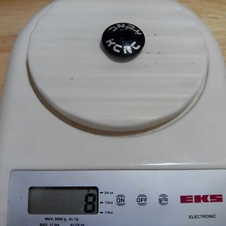 "Gewicht KCNC Ahead-Kappe Ahead-Kappe Standard 1 1/8"""