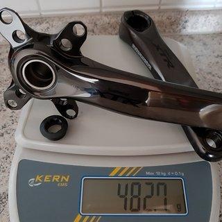 Gewicht Shimano Kurbel XTR Trail FC-M9020 170