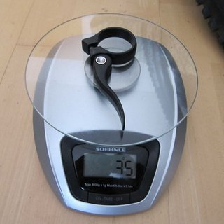 Gewicht Cotic Sattelklemme Sattelklemme (QR) 34,9mm
