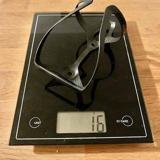 Gewicht Merida Flaschenhalter Carbon Light