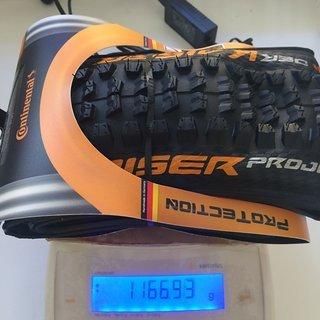 Gewicht Continental Reifen Der Kaiser 2.4 Projekt 27,5 x 2,4 / 60-584