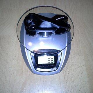 Gewicht FUNN Vorbau Stryge 31.8mm, 70mm, 7°