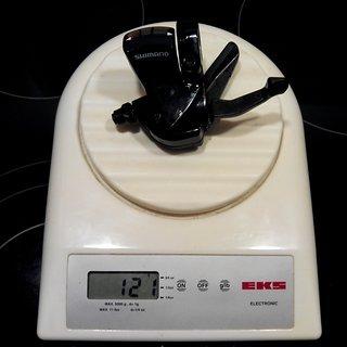 Gewicht Shimano Schalthebel SL-R441 2/3-fach