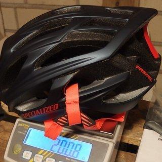 Gewicht Specialized Helm s-works prevail I M (54-60cm)
