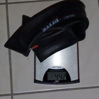 """Gewicht Maxxis Schlauch Downhill-Schlauch SV/26x2.5-2.7"""""""