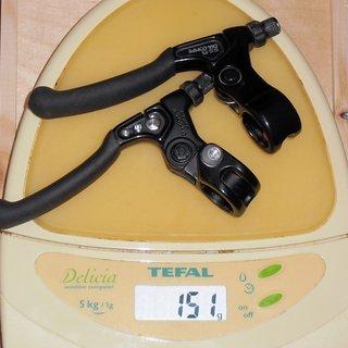 Gewicht Dia-Compe Felgenbremse SS-5 Mk1 (tuned)