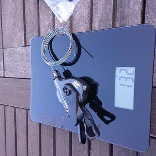 Gewicht Shimano Schalthebel SL-M8000-B 11 fach rechts, I- Spec B