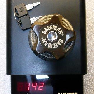 Gewicht Tectory Fahrradschloss Safeman 75cm / 4mm