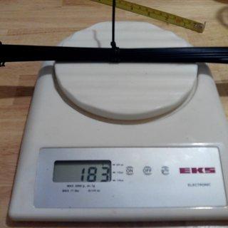 Gewicht CN Spoke Speiche MAC Butted DB454 262mm, 32 Stück