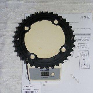 Gewicht Shimano Kettenblatt SLX FC-M665 104mm, 36Z