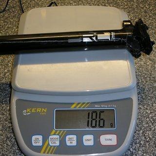 Gewicht Procraft Sattelstütze PRC SP2 30,9x400mm