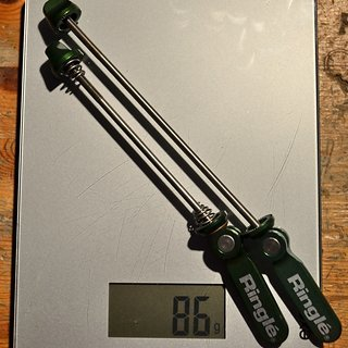 Gewicht SunRingle Schnellspanner Ringle Twister 100 / 135