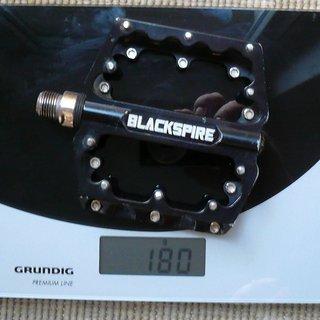 Gewicht Blackspire Pedale (Platform) Sub4 Pedals