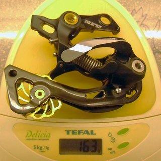 Gewicht Shimano Schaltwerk XTR RD-M981 GS (tuned) Short Cage