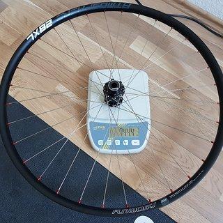 """Gewicht SRAM Systemlaufräder Predictive Steering Disc IS Custom Vorderrad  29"""" 622x28"""