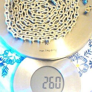 Gewicht KCNC Kette YBN-901DHA 110 Glieder