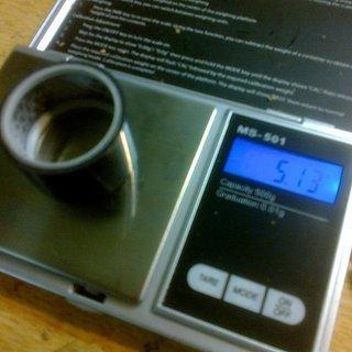 Gewicht Carbonice Spacer Steiler Müller 1⅛'', 20mm