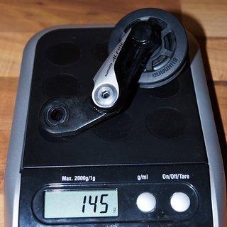 Gewicht Shimano Weiteres/Unsortiertes Alfine CT-S510S 16-23Z