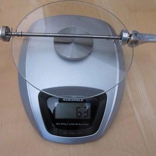 Gewicht Hope Schnellspanner Schnellspanner (V2A) 135mm