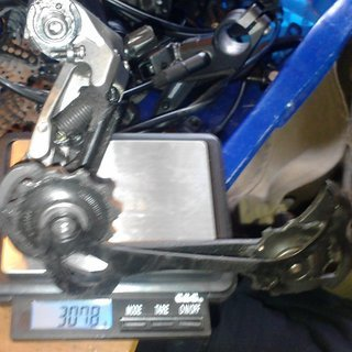 Gewicht Shimano Schaltwerk LX RD-M580 SGS Long Cage