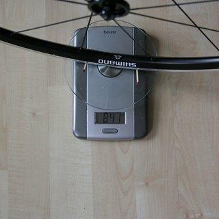 """Gewicht Shimano Systemlaufräder WH-RS11 700c 28"""""""