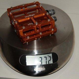 Gewicht Wellgo Pedale (Platform) B144 107.3x100x26mm