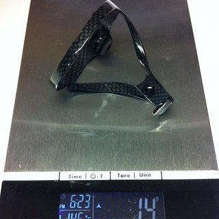 Gewicht No-Name Flaschenhalter CNC Carbon Superlight 9G