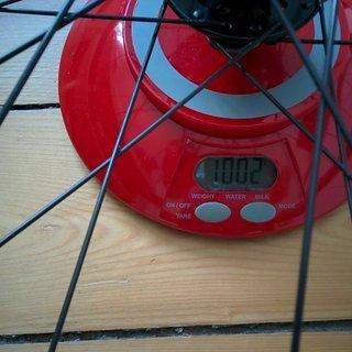 Gewicht Spank Systemlaufräder Spank Spike Race 33 + Novatec Superlight + Sapim D-Light 27,5