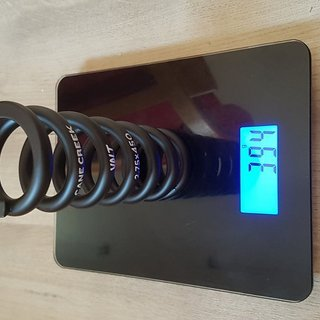 Gewicht Cane Creek Feder VALT Stahlfeder 2.75x450